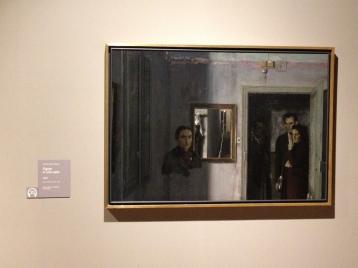 Figure in una casa - Antonio Lopez Garcìa